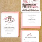 Lab Partners Hello! Lucky Paris Wedding Invitations