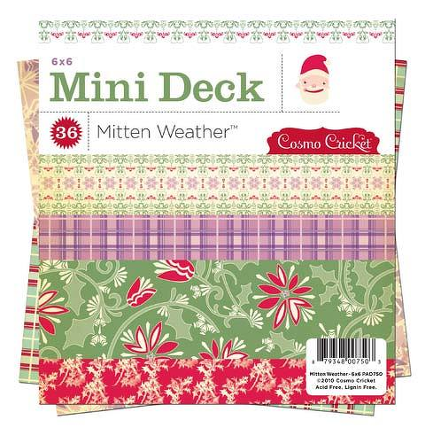 Cosmo Cricket Mitten Weather Mini Deck