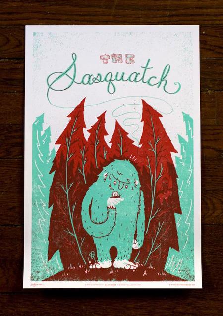 Family Tree Monster Friends Sasquatch
