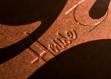 House Industries Metallic Typography Art Prints