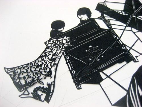 Lorraine Nam Cut Paper Art