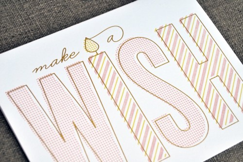 The Social Type Letterpress Birthday Cards