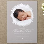Spring Luxe Birth Announcements by Letters by Lauren