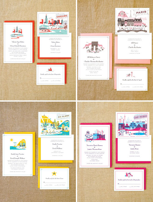 Hello Lucky Lab Partners Destination Wedding Invitations