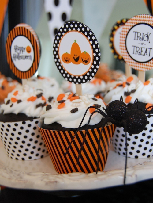 Frog Prince Halloween Trick or Treat Printable Party Kit