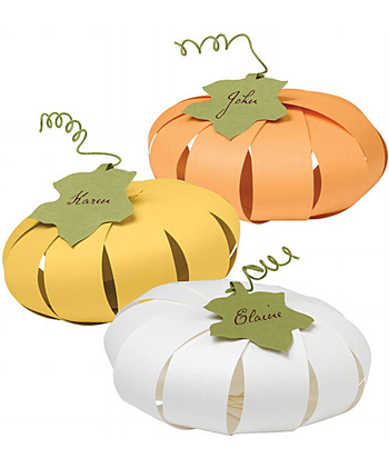 Paper Gourd Place Card Kit
