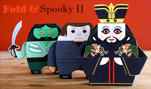 Gubicza Free Printable John Carpenter Paper Toys