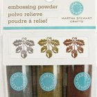 Martha Stewart Metallic Embossing Powder