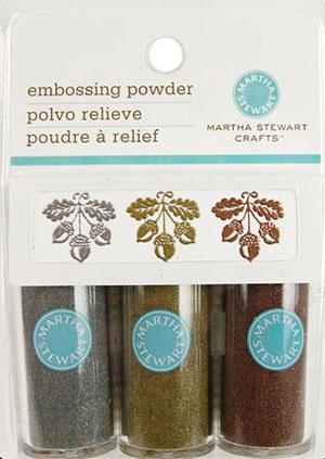 Martha Stewart Metallic Embossing Powder