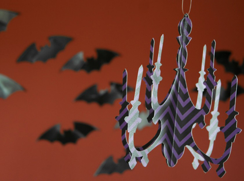 Paper & Cake Halloween Party Kit Chandelier