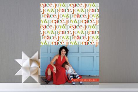 Peppy Joy Holiday Photo Cards