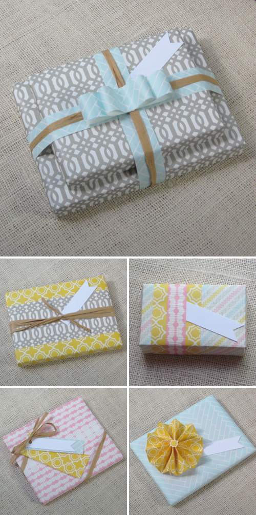 Avie Designs Patterned Wrapping Paper
