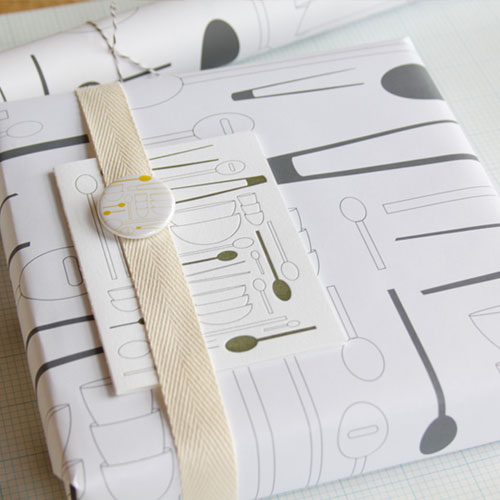 Cuilliere Wrapping Paper