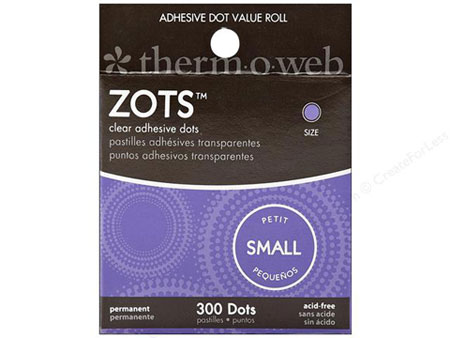 Zots Small Glue Dots
