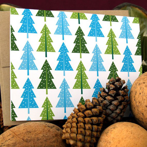 Christmas Tree Cards Small Talk Studio