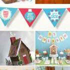 Printable Holiday Party Decorations