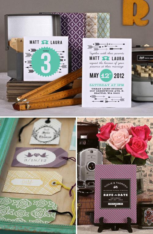 Love vs. Design Printable Wedding Stationery