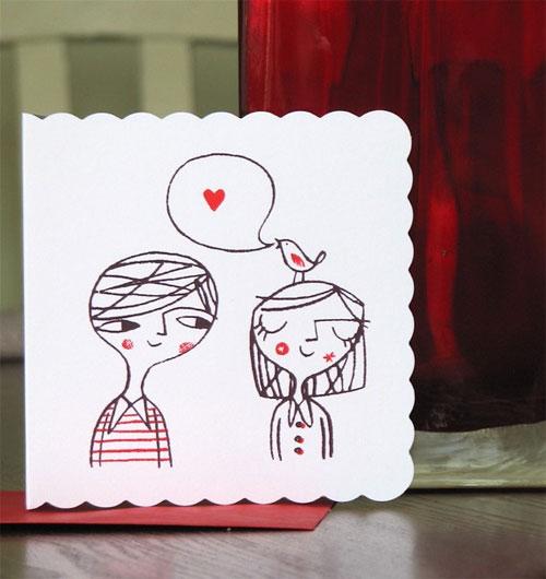 Lisa Stubbs Love Bird Card