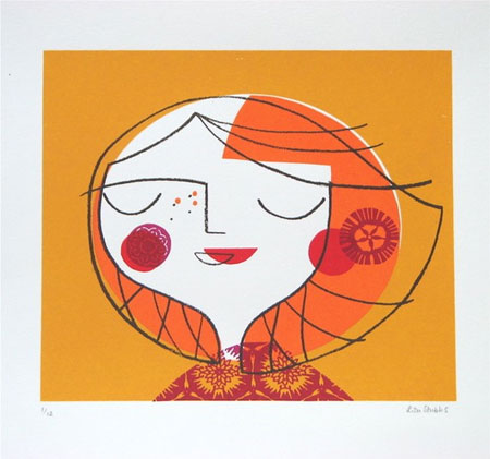 Illustrated Screen Prints by Lisa Stubbs