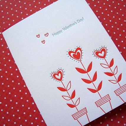 Lucky Bee Letterpress Valentine