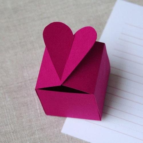 Heart Shaped Box Template