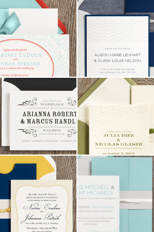 2011 Wedding Invitations Paper Source