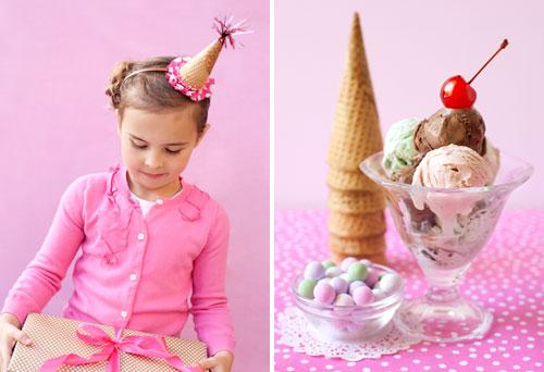 Ice Cream Party Hats