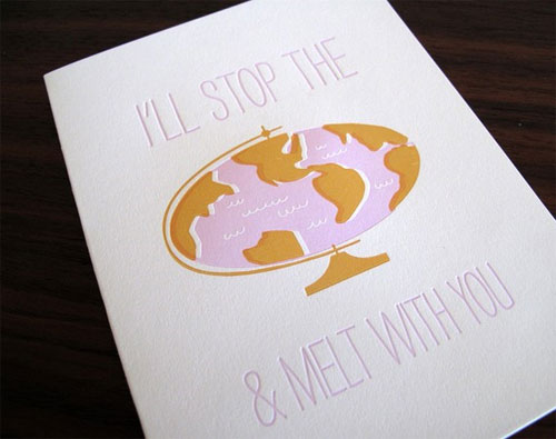Lulu Dee Melt with You Valentine Card