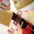 Hearts Printable Gift Wrap
