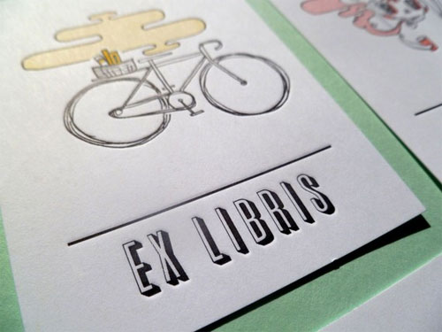 Let's Be Friends Bookplates