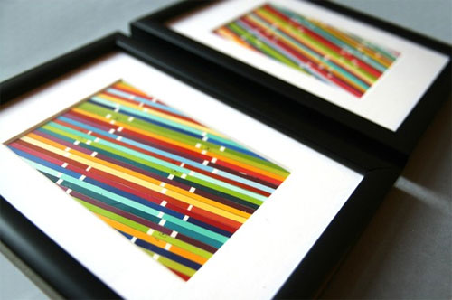 Paint Chip Wall Art