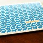 Letterpress Patterned Greeting Cards