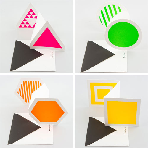 Fluorescent Cards