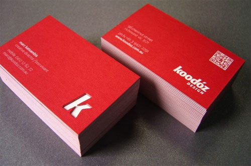 K Business Card