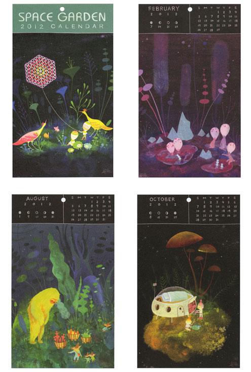 APAK Space Garden Calendar