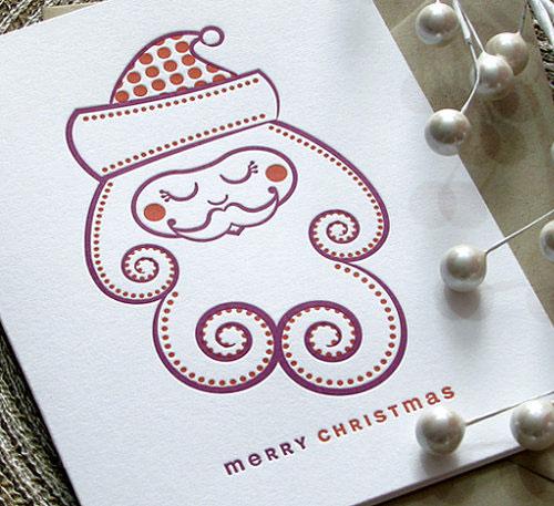 A Letterpress Christmas Sweet Harvey