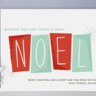 Hip Noel Holiday Cards