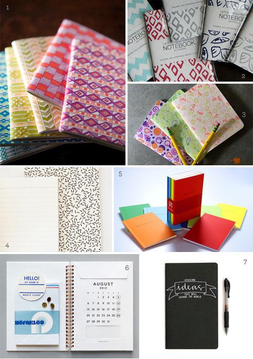 Journals Notebooks Gift Ideas