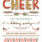 Spread the Holiday Cheer Invitations