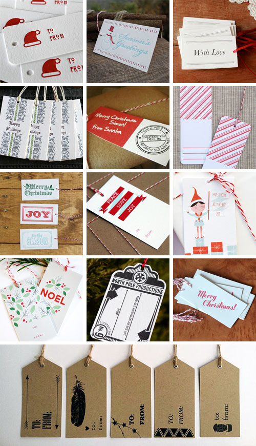 Holiday Gift Tags