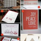 Letterpress Holiday Cards