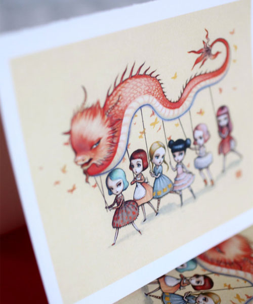 Dragon Dancer Cards