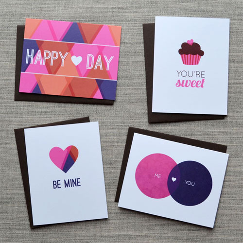 Avie Designs Valentine Cards