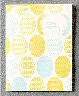 Retro Easter Card