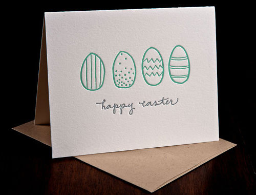 Hand Drawn Happy Easter Card