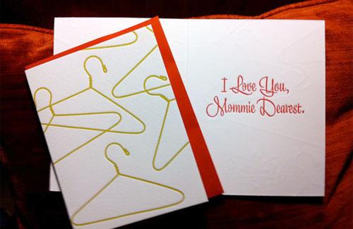 Mommie Dearest Card