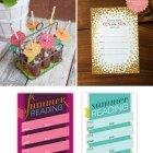 Summer Paper Crafts + Printables