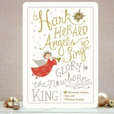 Angels Sing Holiday Cards