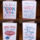 Illustrated Greeting Cards by Familytree