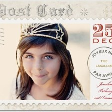 Festive Delivery Holiday Photo Cards